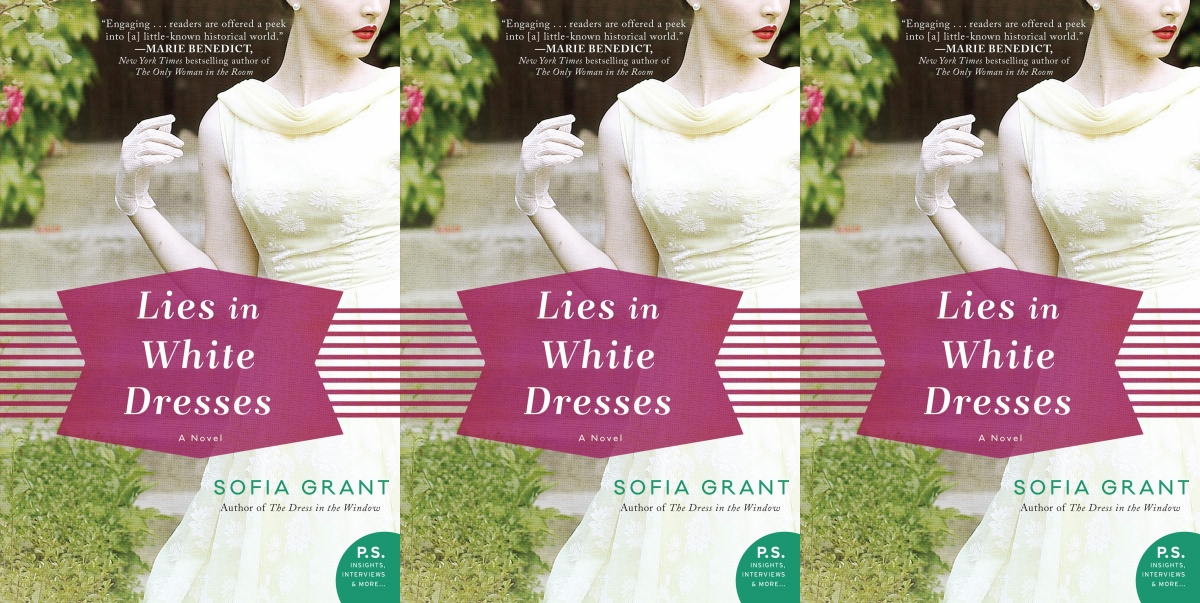 september romance releases, lies in white dresses by sofia grant, books