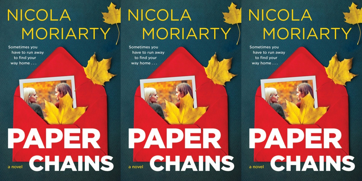 september romance releases, paper chains by nicola moriarty, books