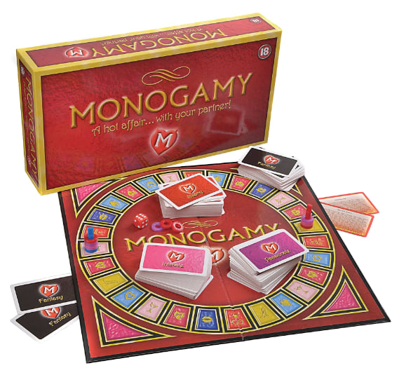 Monogamy: A Hot Affair With Your Partner Game from Adam & Eve