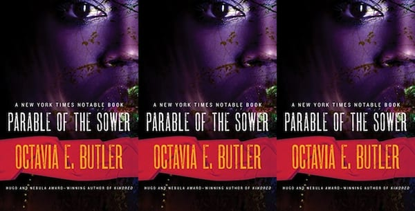 diverse science fiction books, parable of the sower by octavia butler, books