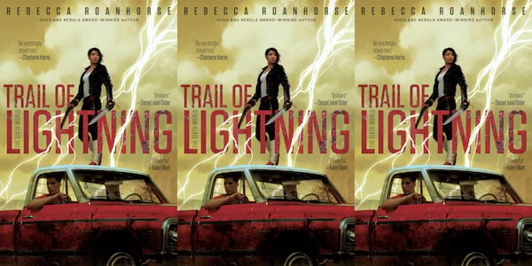 diverse science fiction books, trail of lightning by rebecca roanhorse, books