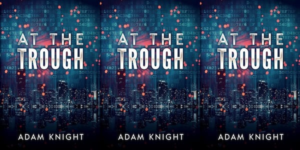 diverse science fiction books, at the trough by adam knight, books