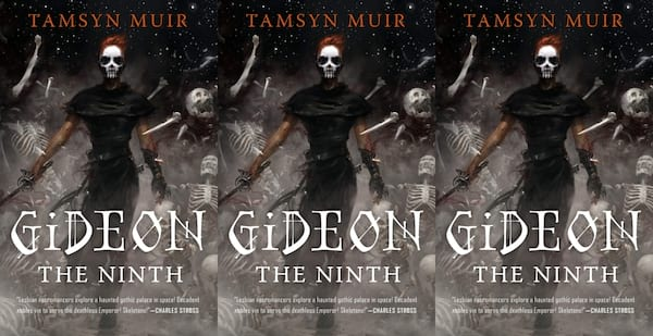 diverse science fiction books, gideon the ninth by tamsyn muir, books