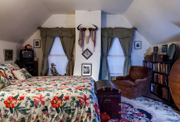 The Haunted Bedroom in New Orleans, Louisiana Airbnb listing