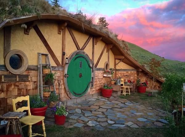 lord of the rings hobbit sized airbnb