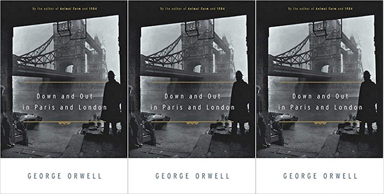down and out in paris and london george orwell novel