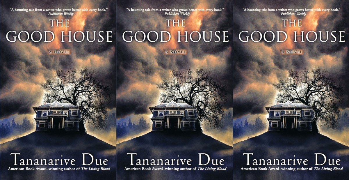 halloween books, the good house by tananarive due, books