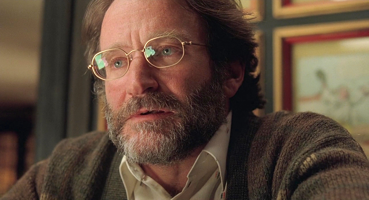 Good Will Hunting, hero, robin williams, smart, glasses
