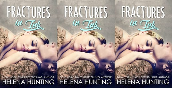 tattoo shop romance novels, fractures in ink by helena hunting, books