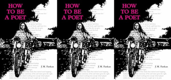 upcoming poetry collections, how to be a poet by jm farkas, books