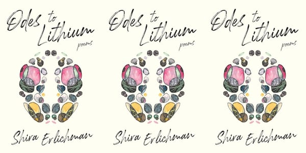 upcoming poetry collections, odes to lithium by shira erlichman, books