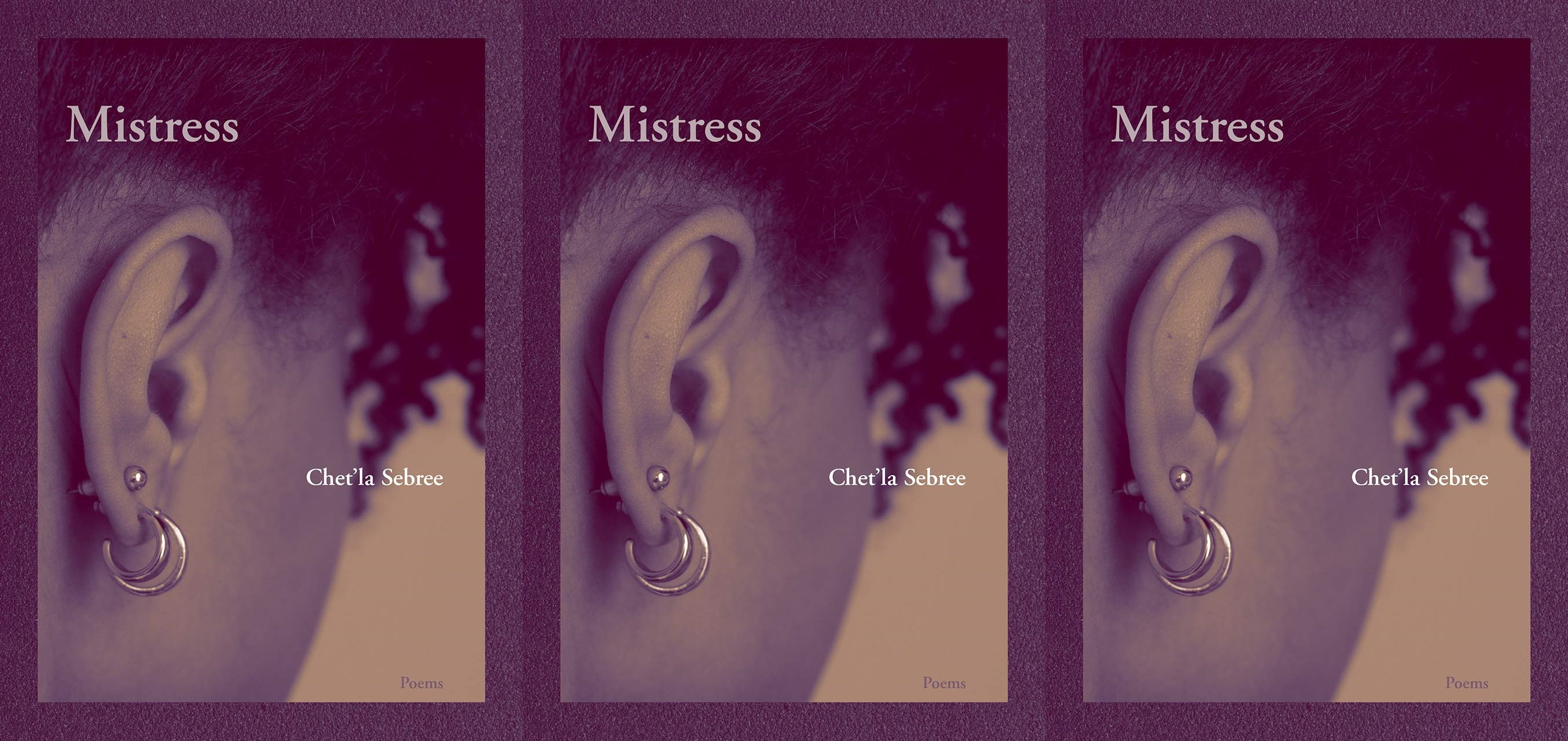upcoming poetry collections, mistresses by chet'la sebree, books