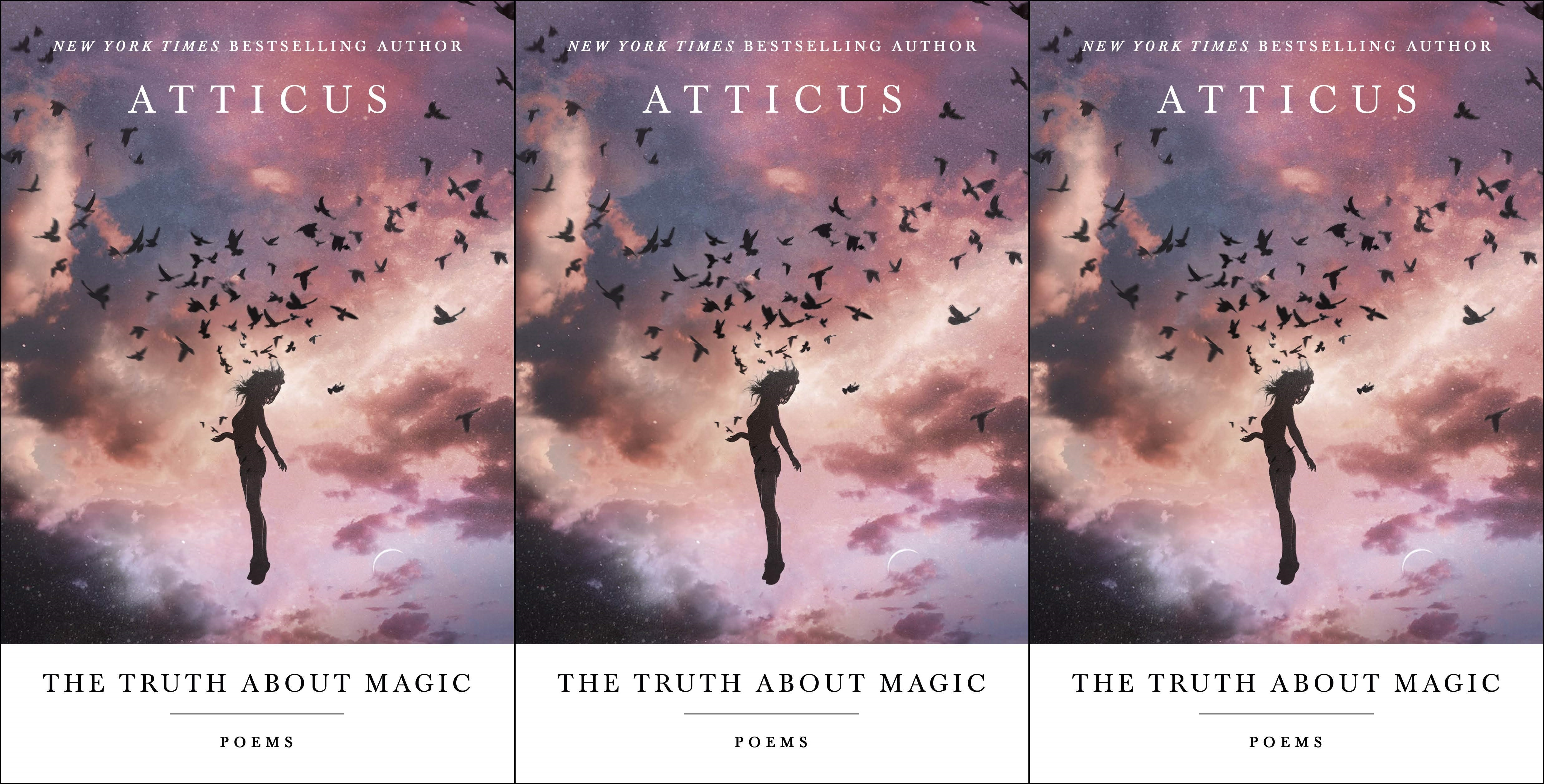 upcoming poetry collections, the truth about magic by atticus, books