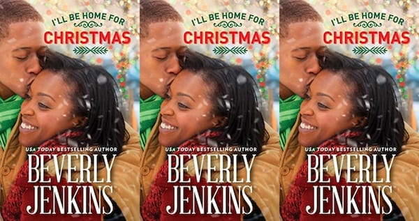 christmas romance novels, i'll be home for christmas by beverly jenkins, books