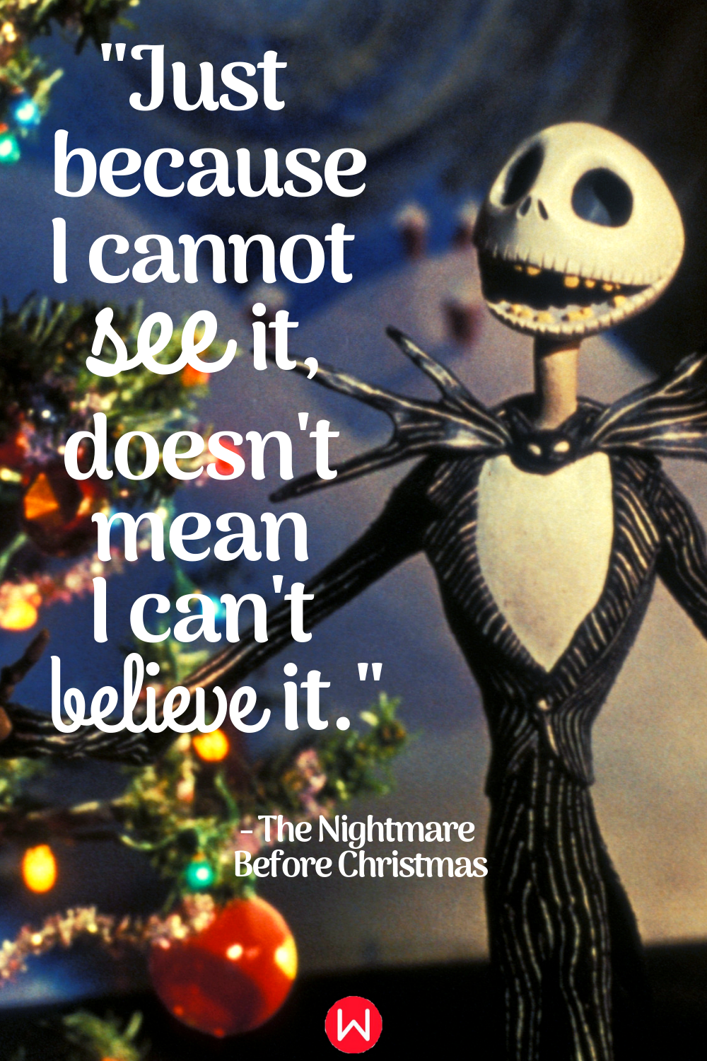 movies, The Nightmare Before Christmas, quote, Disney