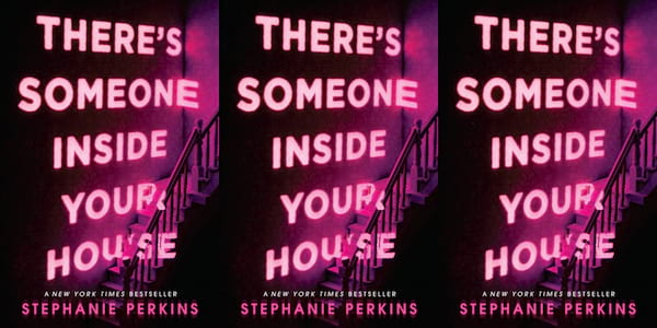 teen horror novels, there's someone inside your house by stephanie perkins, books