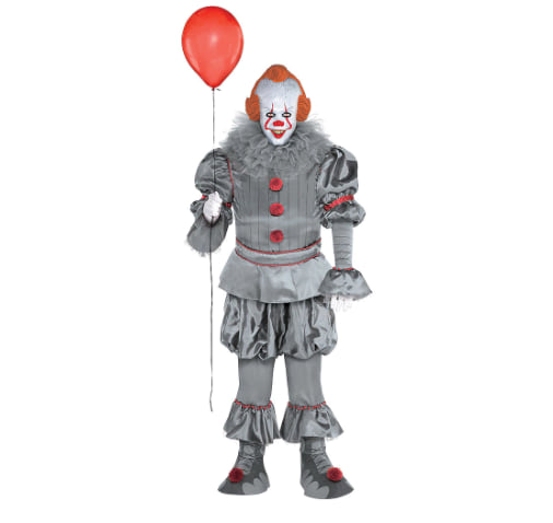 Adult Tattered Pennywise Costume from Party City