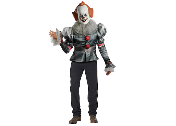 Adult Pennywise Costume Deluxe from Spirit Halloween