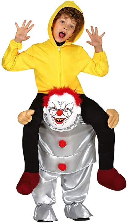 Child's Pennywise & Georgie Halloween Costume from Amazon