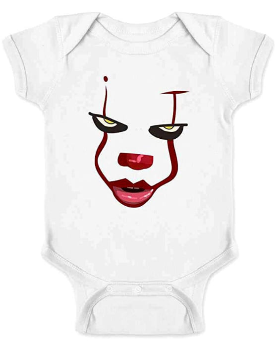 Pennywise Infant Bodysuit from Amazon