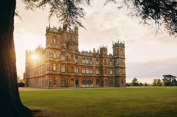 highclere castle downtown abbey airbnb