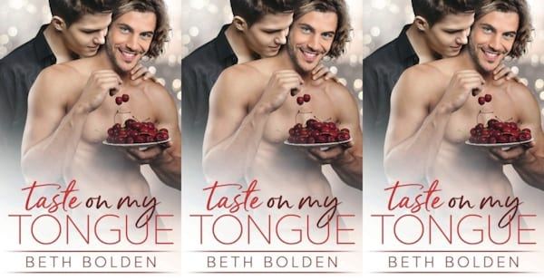 cooking competition romance novels, taste on my tongue by beth bolden, books