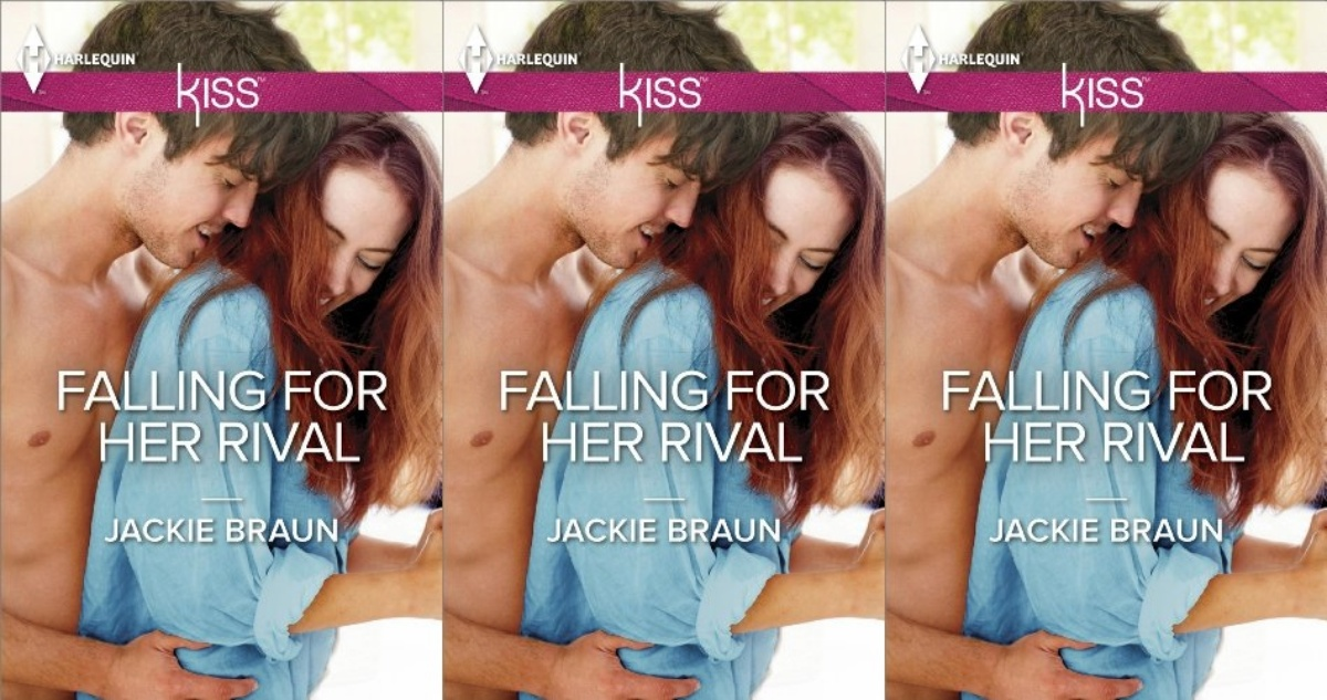 cooking competition romance novels, falling for her rival by jackie braun, books