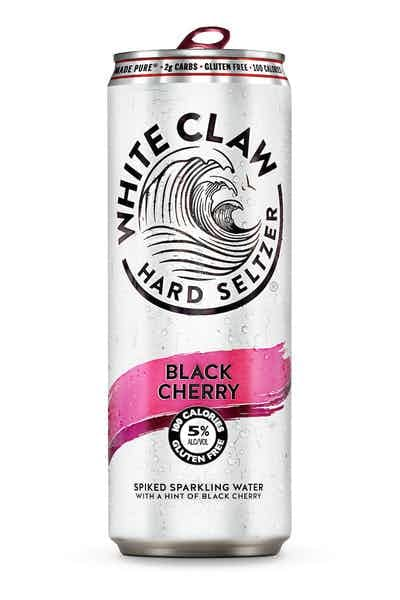 White Claw Black Cherry Hard Seltzer from Drizly