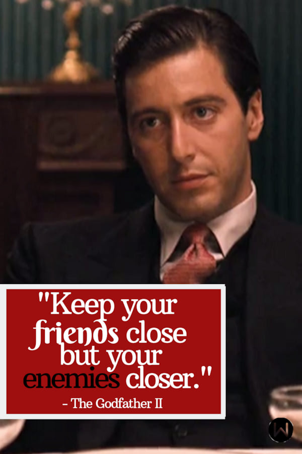 movies, the godfather II, 1974, Classic movie, quote