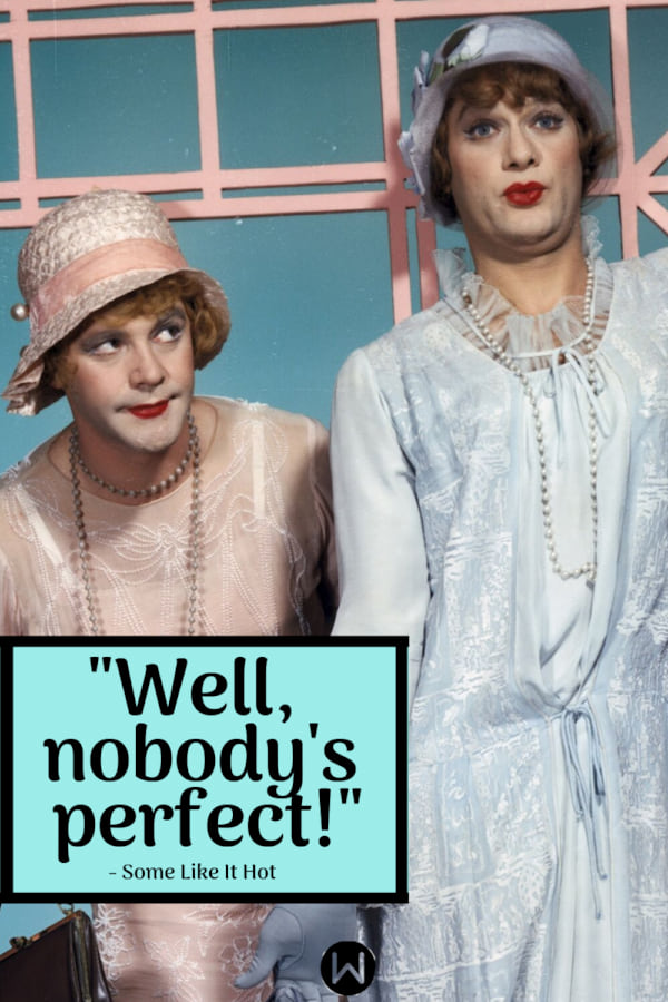 movies, Some Like It Hot, 1959, Classic movie, quote