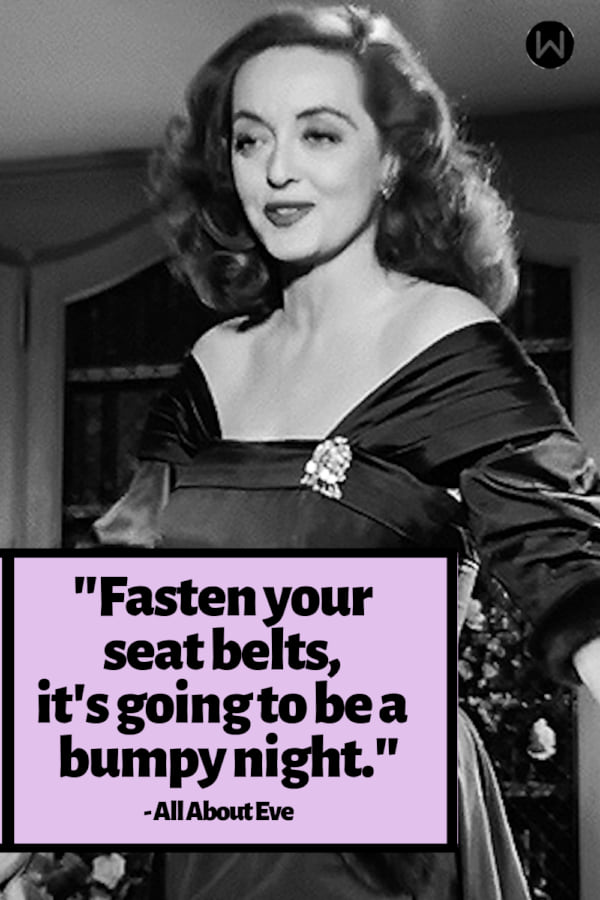movies, All About Eve, 1942, Classic movie, quote