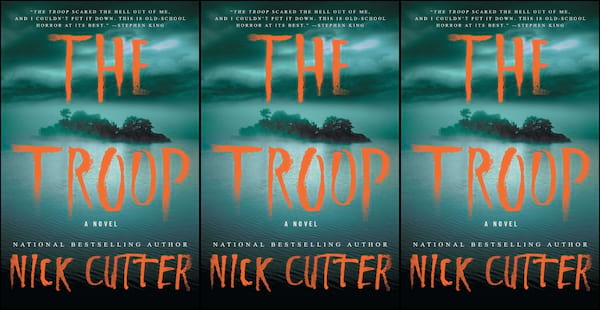 underrated horror novels, the troop by nick cutter, books