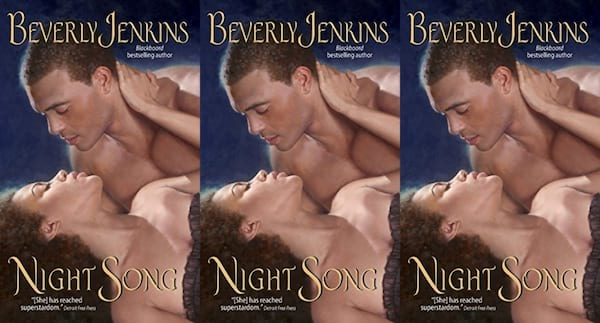 midwest romance novels, night song by beverly jenkins, books
