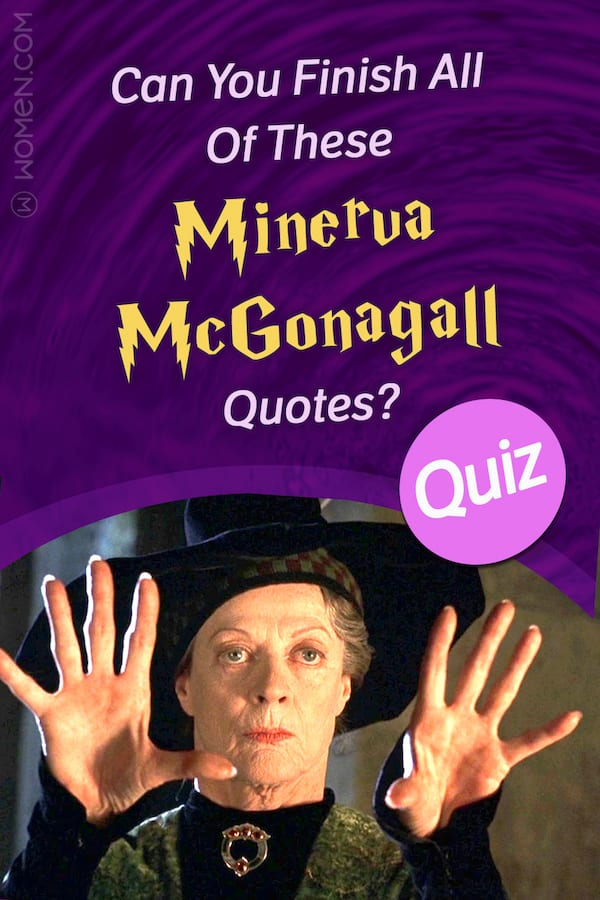 hogwarts quiz can you finish all of these minerva mcgonagall