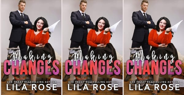 office romance novels, making changes by lila rose, books