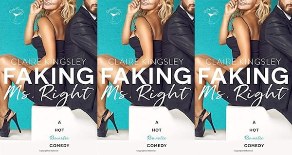office romance novels, faking ms right by claire kingsley, books
