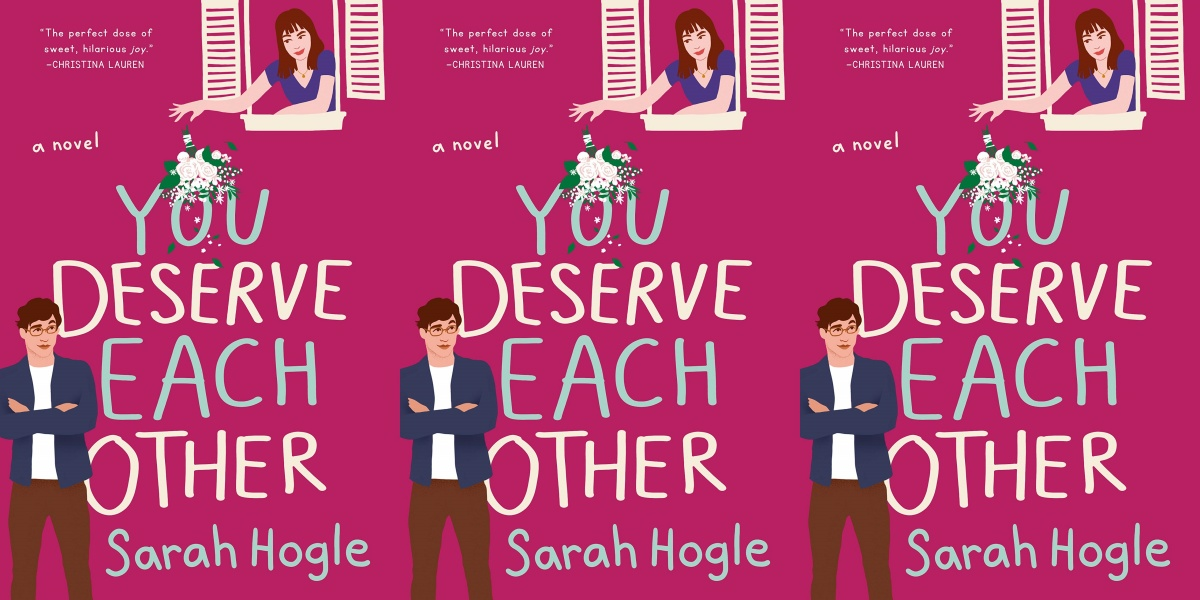 illustrated romance novels, you deserve each other by sarah hogle, books