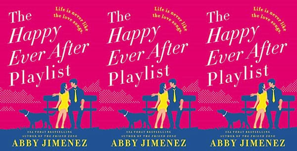 illustrated romance novels, the happy ever after playlist by abby jimenez, books