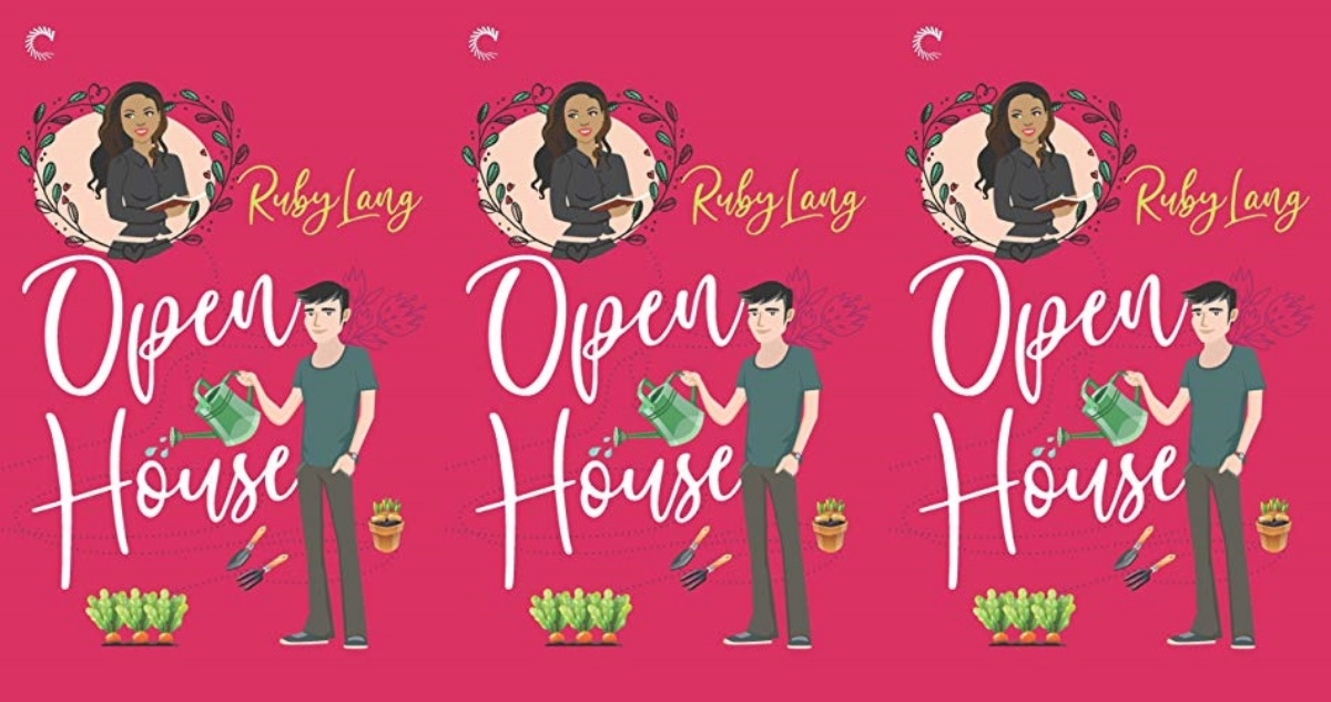 illustrated romance novels, open house by ruby lang, books
