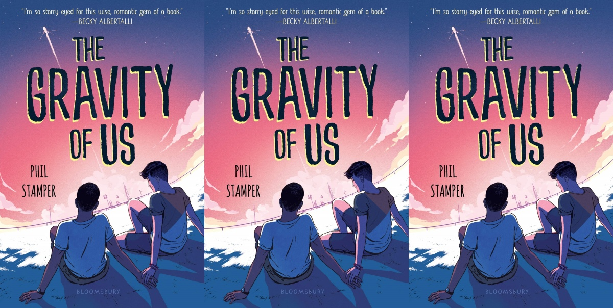 illustrated romance novels, the gravity of us by phil stamper, books