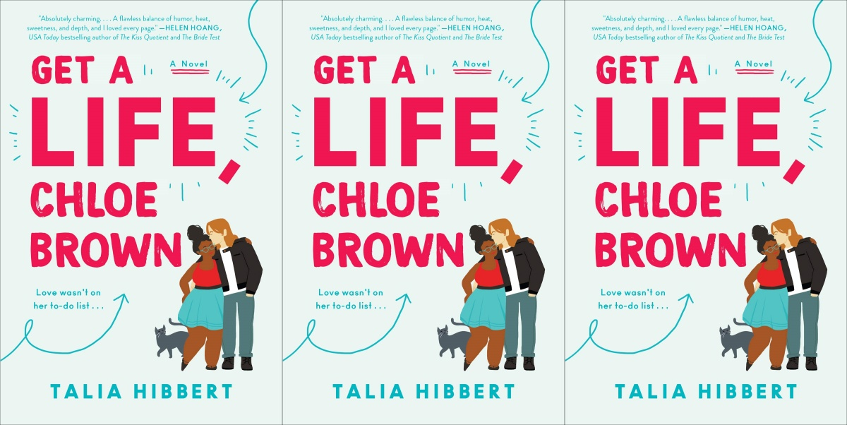 illustrated romance novels, get a life chloe brown by talia hibbert, books