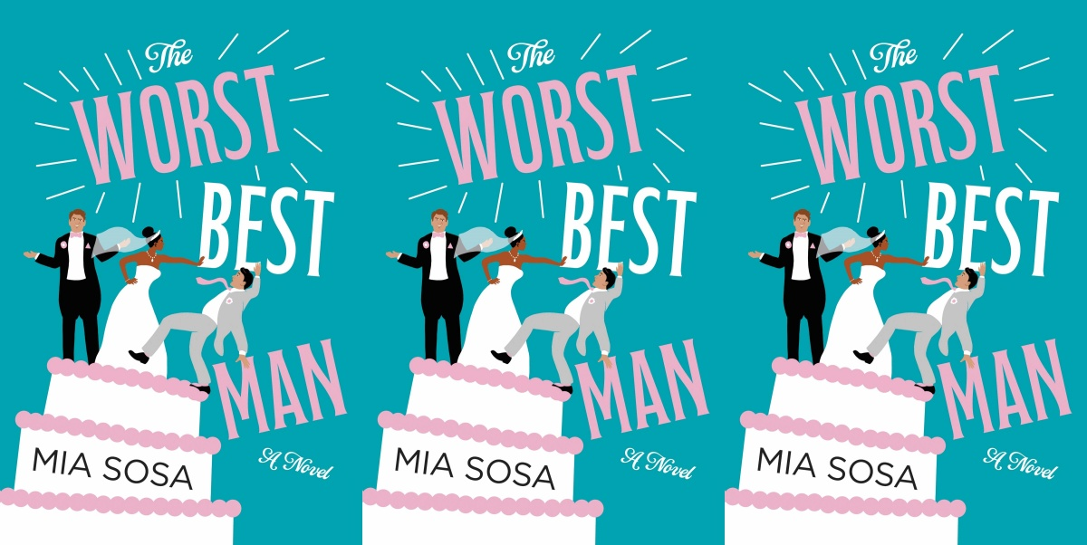 illustrated romance novels, the worst best man by mia sosa, books