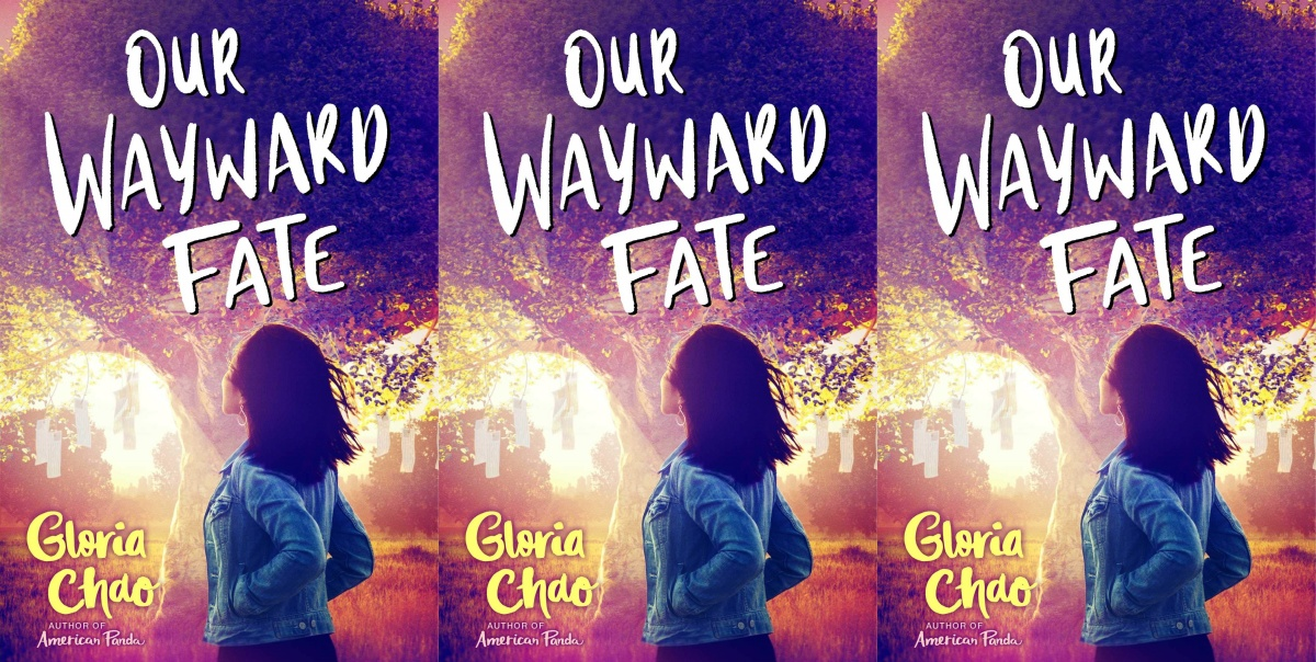 illustrated romance novels, out wayward fate by gloria chao, books