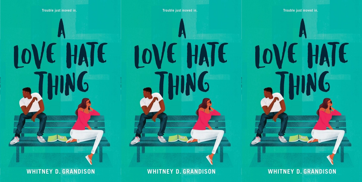 illustrated romance novels, a love hate thing by whitney d grandison, books