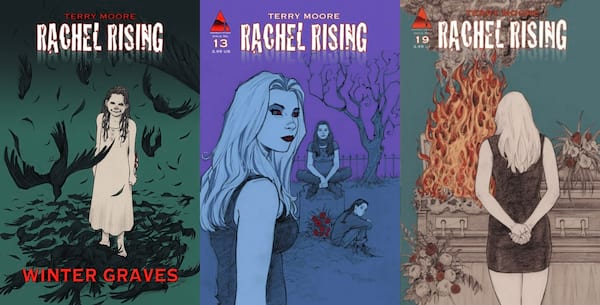 horror comics for halloween, rachel rising by terry moore, books