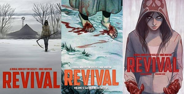 horror comics for halloween, revival by tim seeley, books