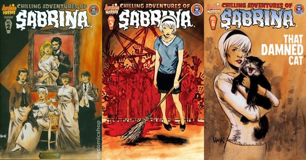 horror comics for halloween, chilling adventures of sabrina by roberto aguirre-sacasa, books