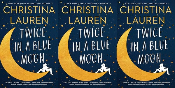 october romance novels, twice in a blue moon by christian lauren, books