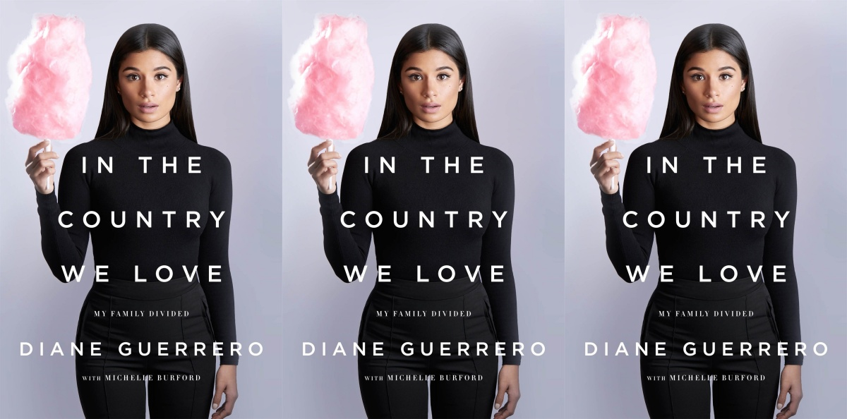 hispanic heritage month books, in the country we love by diane guerrero and michelle burford, books