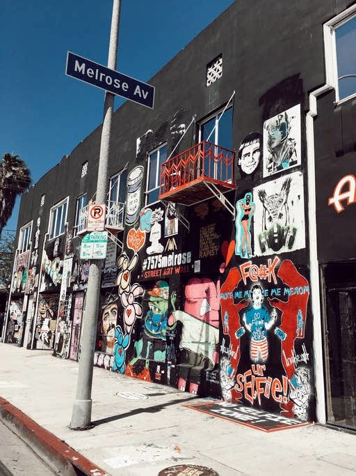 melrose avenue thrifting LA airbnb experience